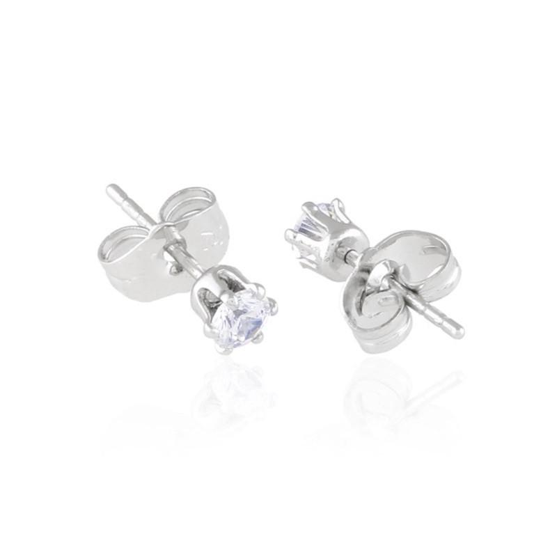 Kolczyki sztyfty z kryształkami Crystallis 1