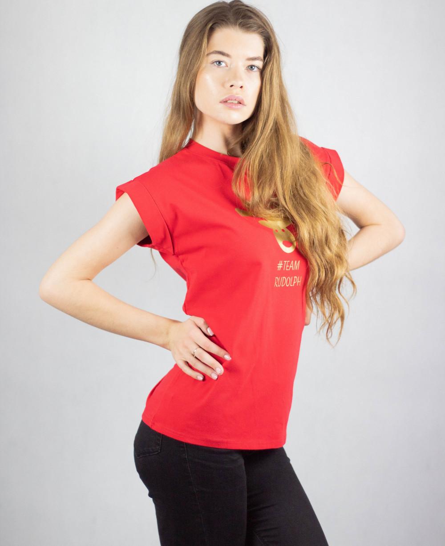 Koszulka czerwona Team Rudolf 1