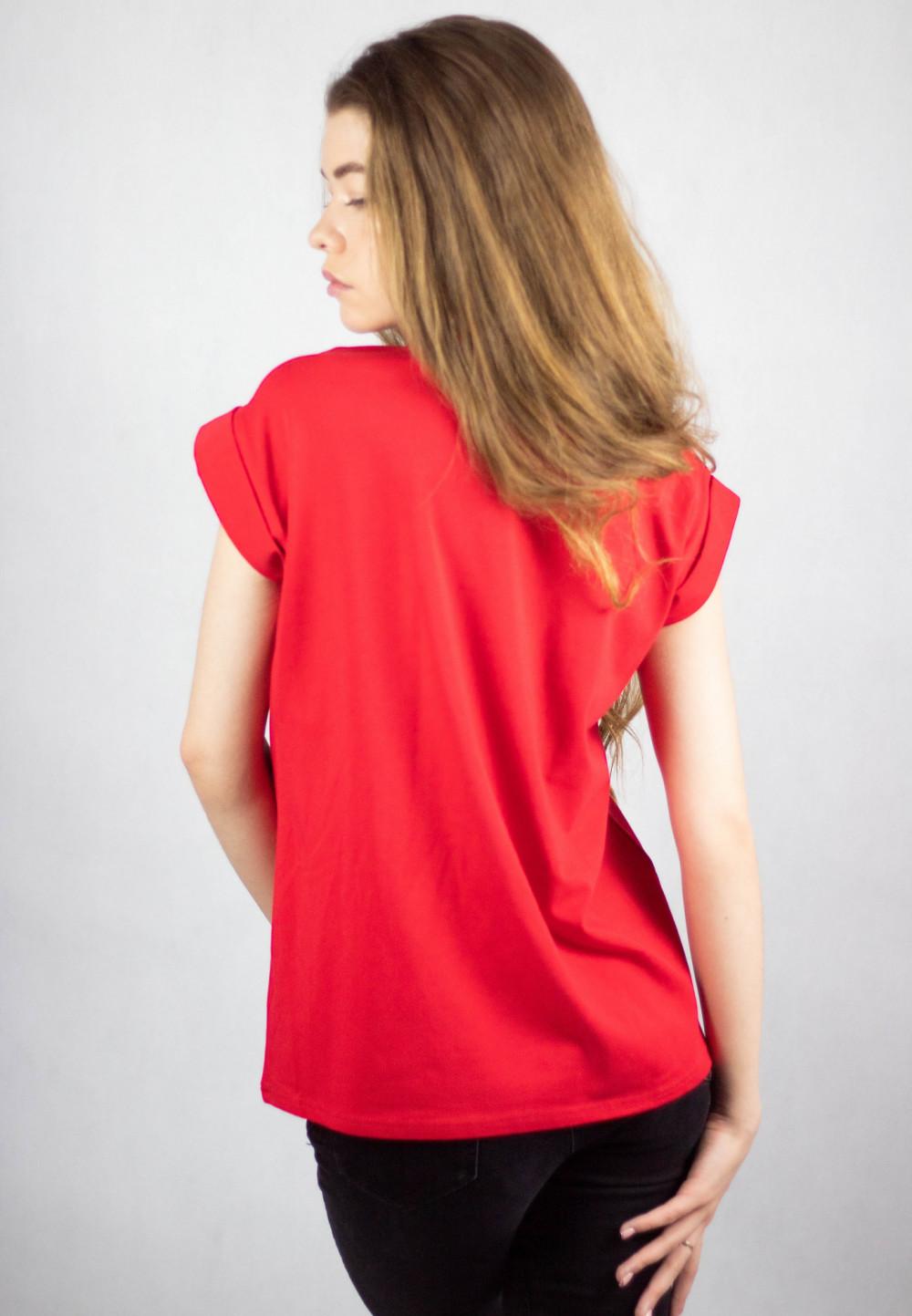 Koszulka czerwona Team Rudolf 2