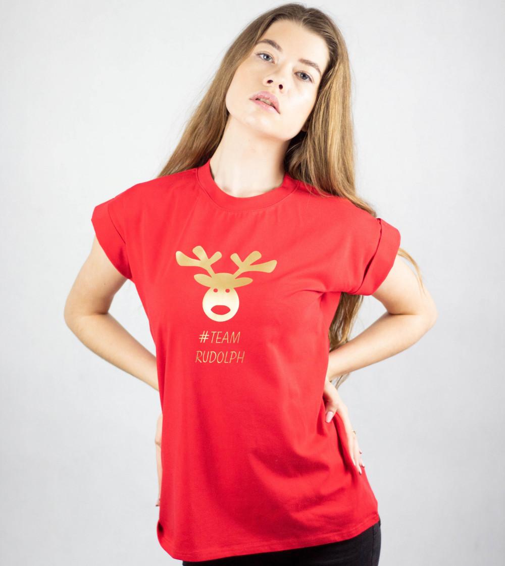 Koszulka czerwona Team Rudolf 4