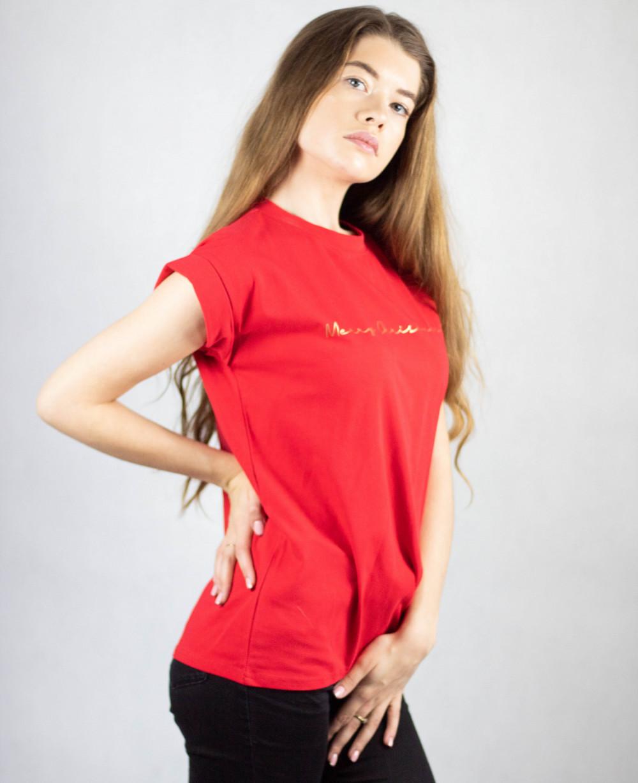 Koszulka czerwona Merry Christmas 3