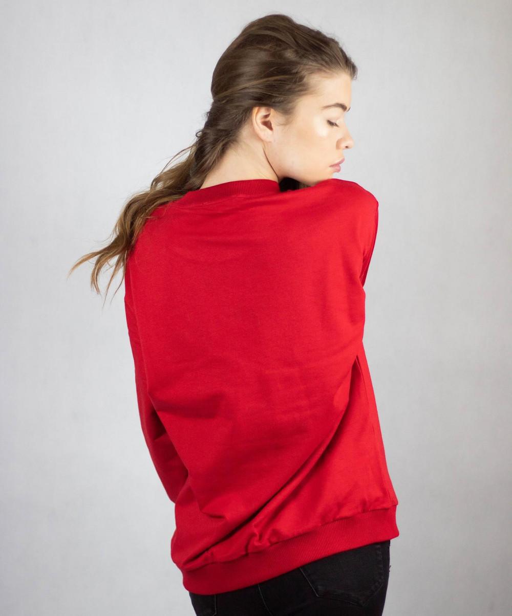 Bluza dresowa czerwona Merry Christmas 5