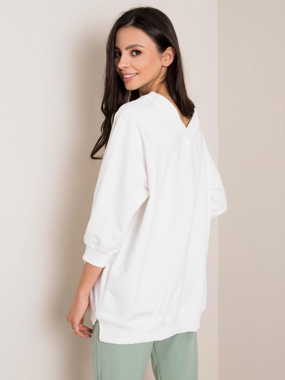 Biała bluza oversize Lorient 2