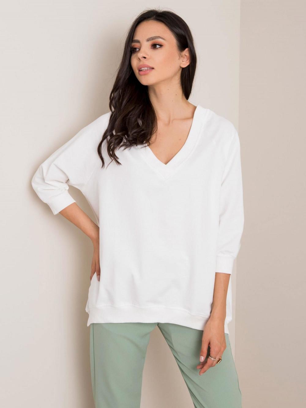 Biała bluza oversize Lorient 3