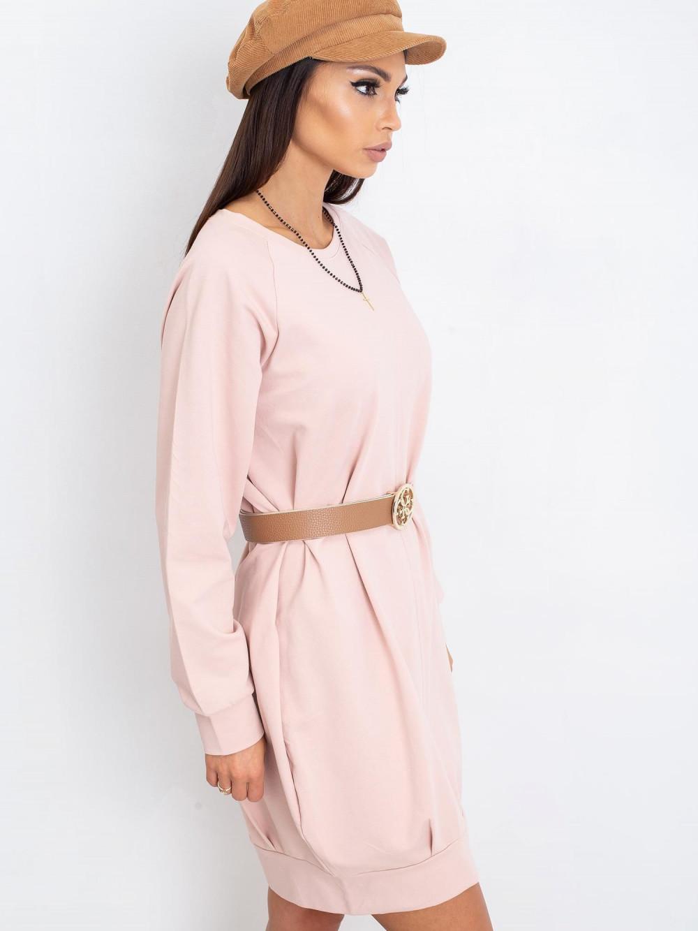 Różowa sukienka bluza Glove 3