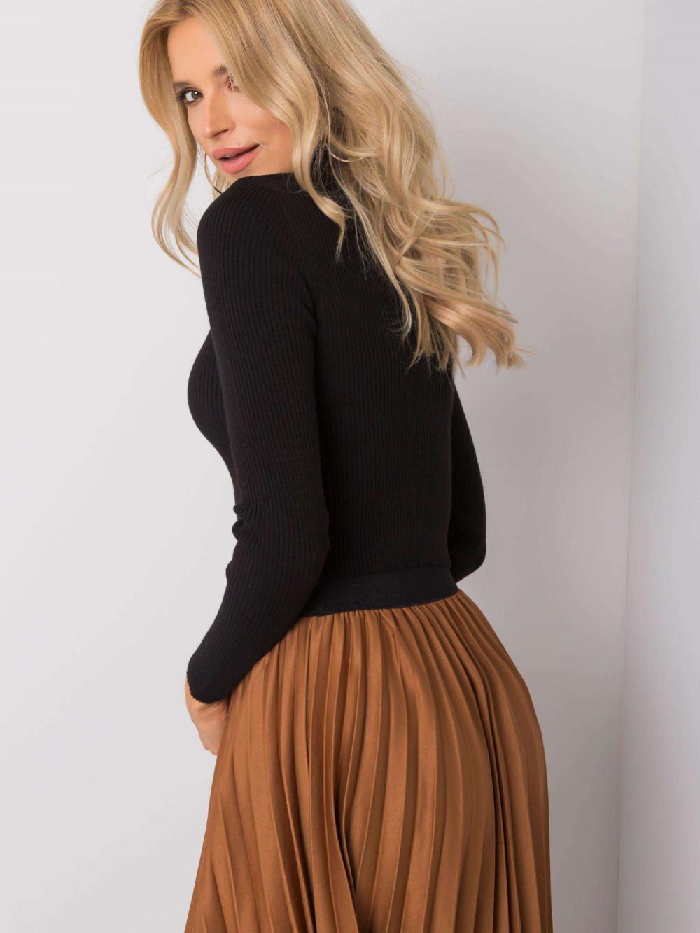 Czarny sweter crop top Ravello 5