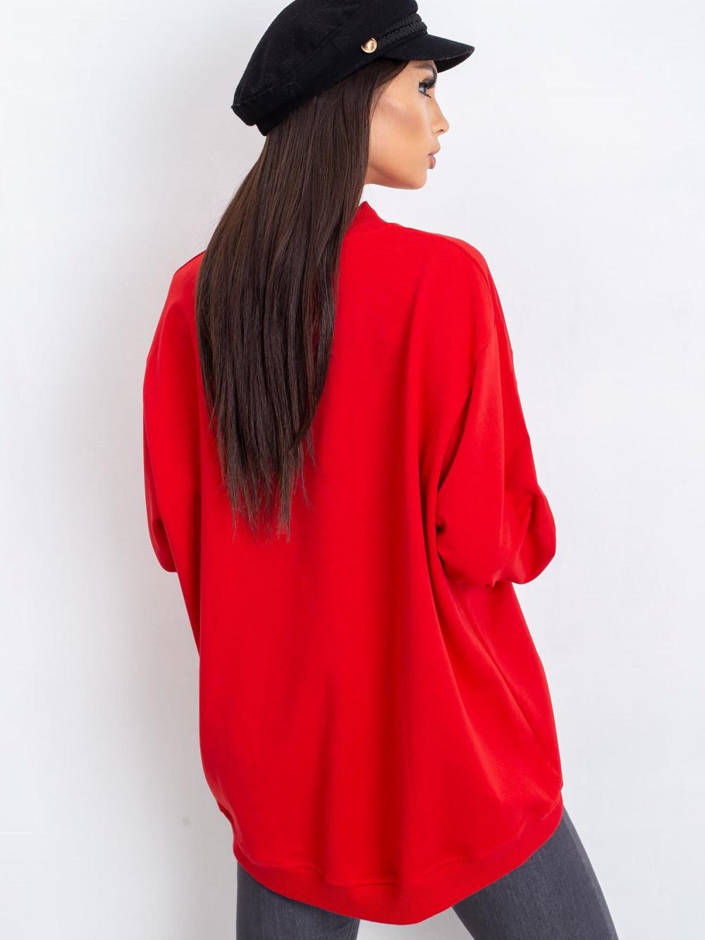 Czerwona bluza Vicenza 4