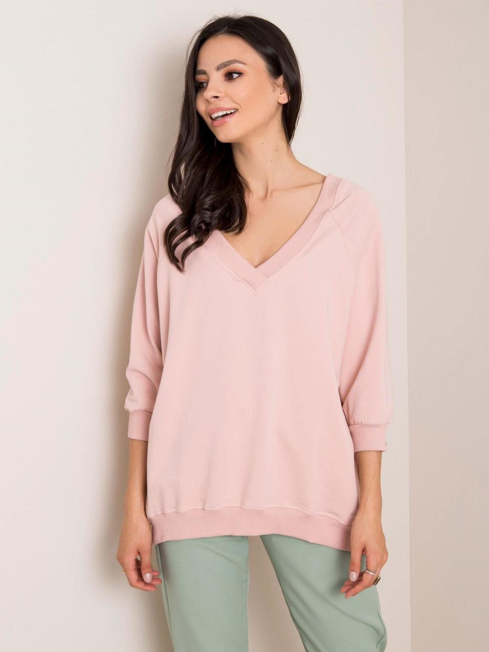 Różowa bluza oversize Forbach 1