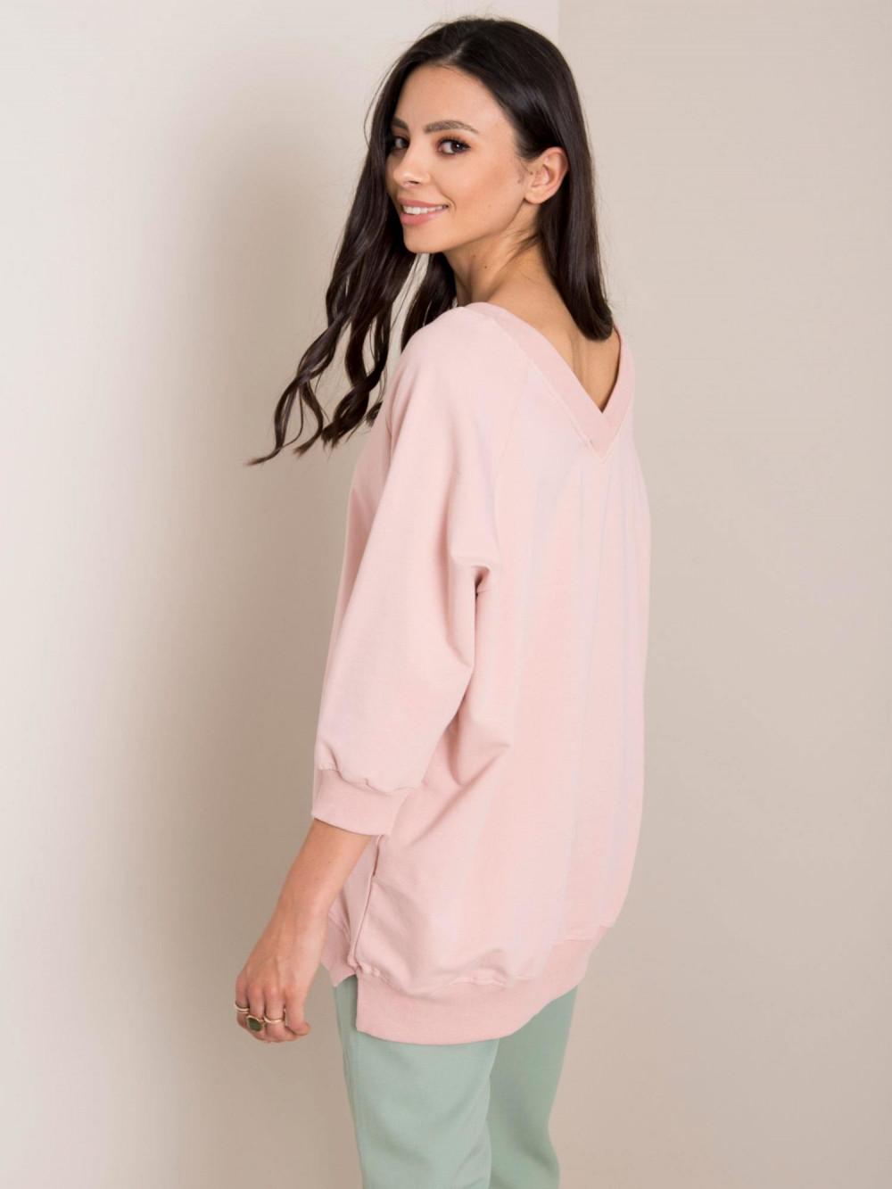 Różowa bluza oversize Forbach 2