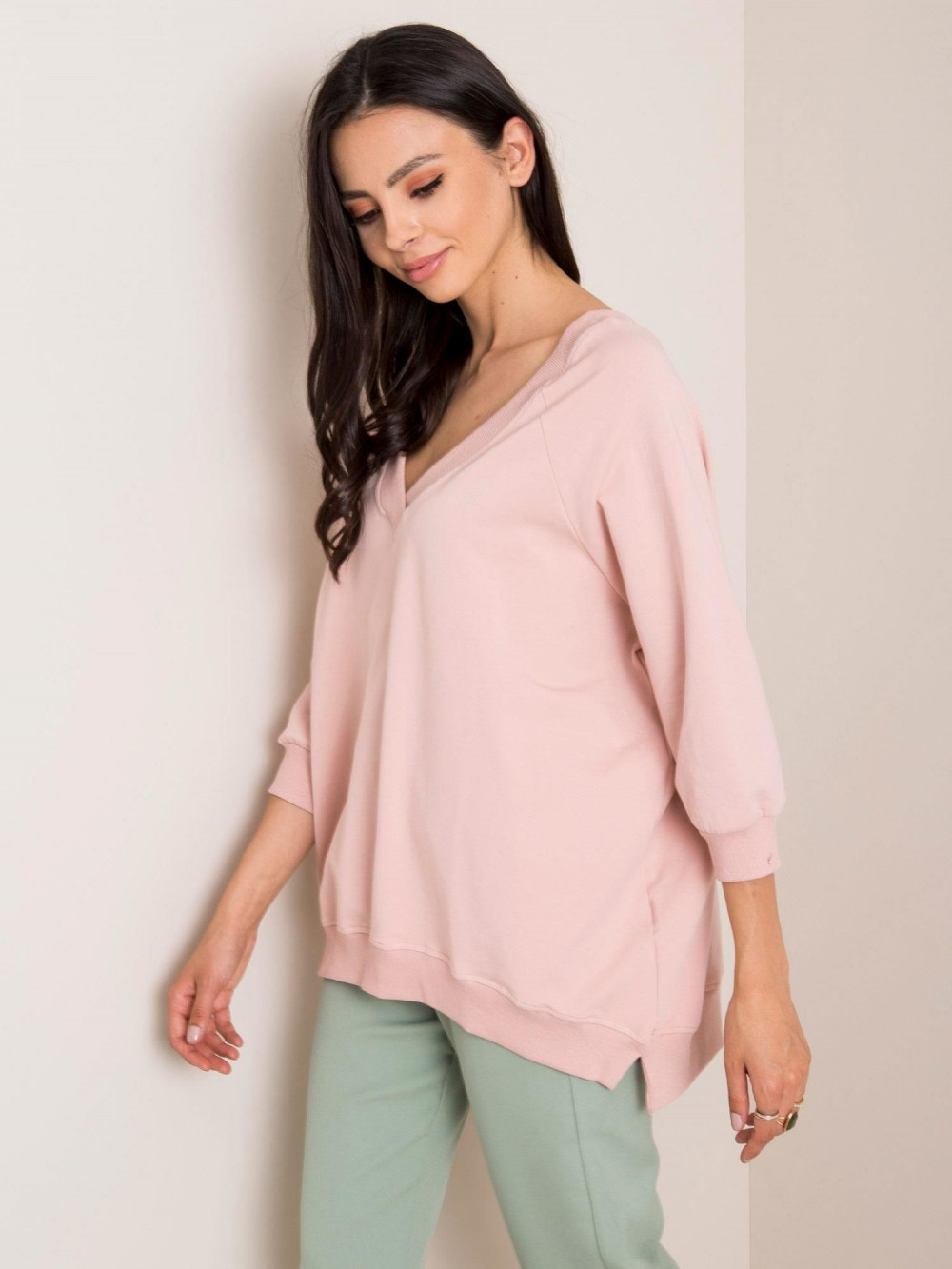 Różowa bluza oversize Forbach 3