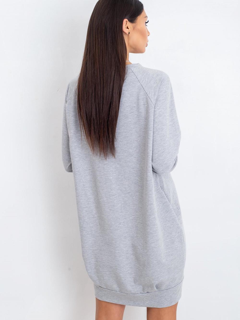 Szara sukienka bluza Anglet 1