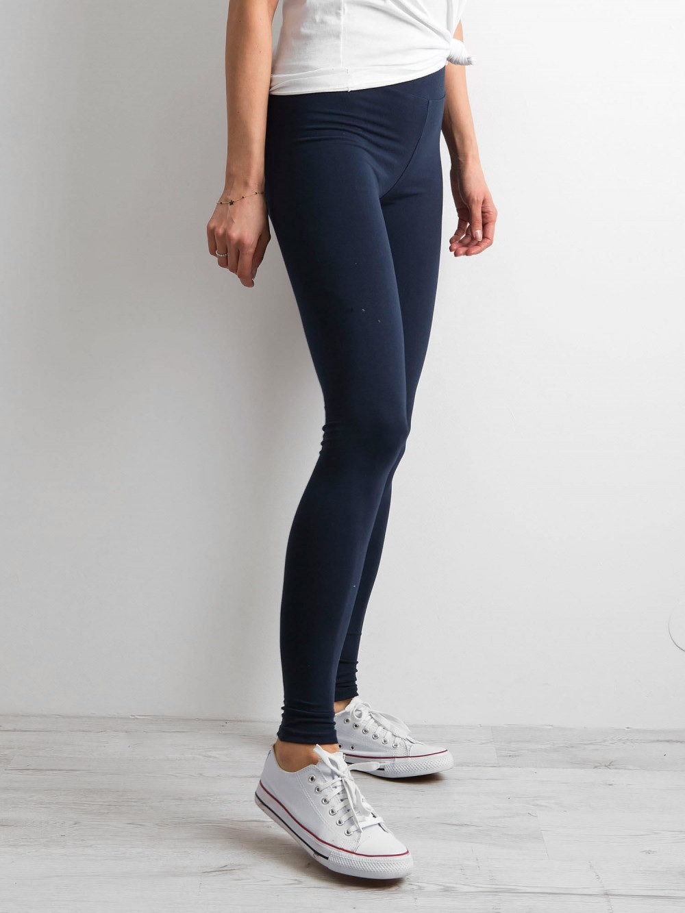 Granatowe legginsy fitness Prime 3