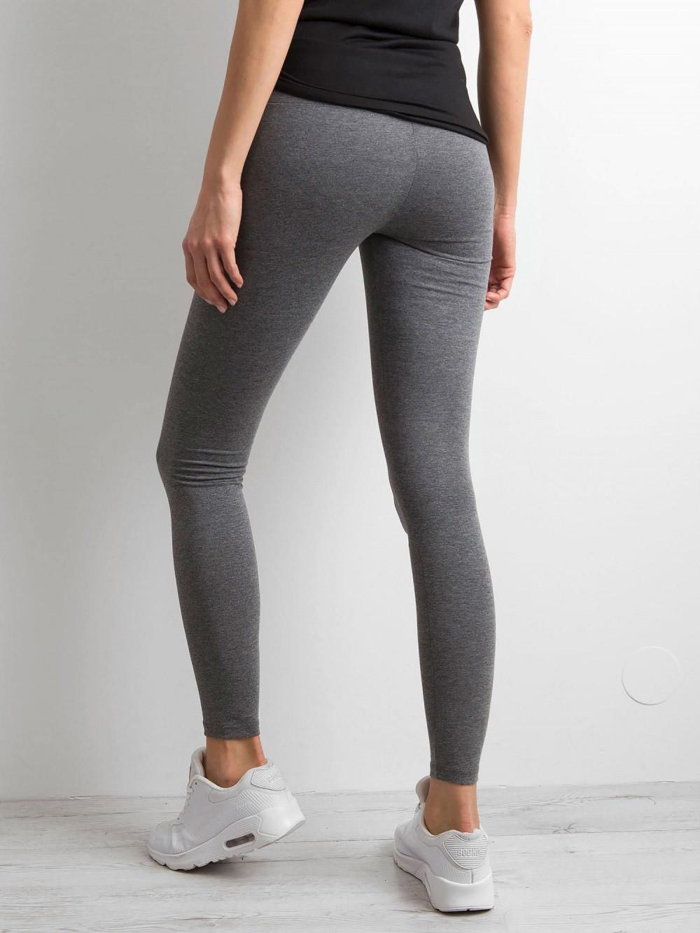 Ciemnoszare legginsy fitness Prime 4