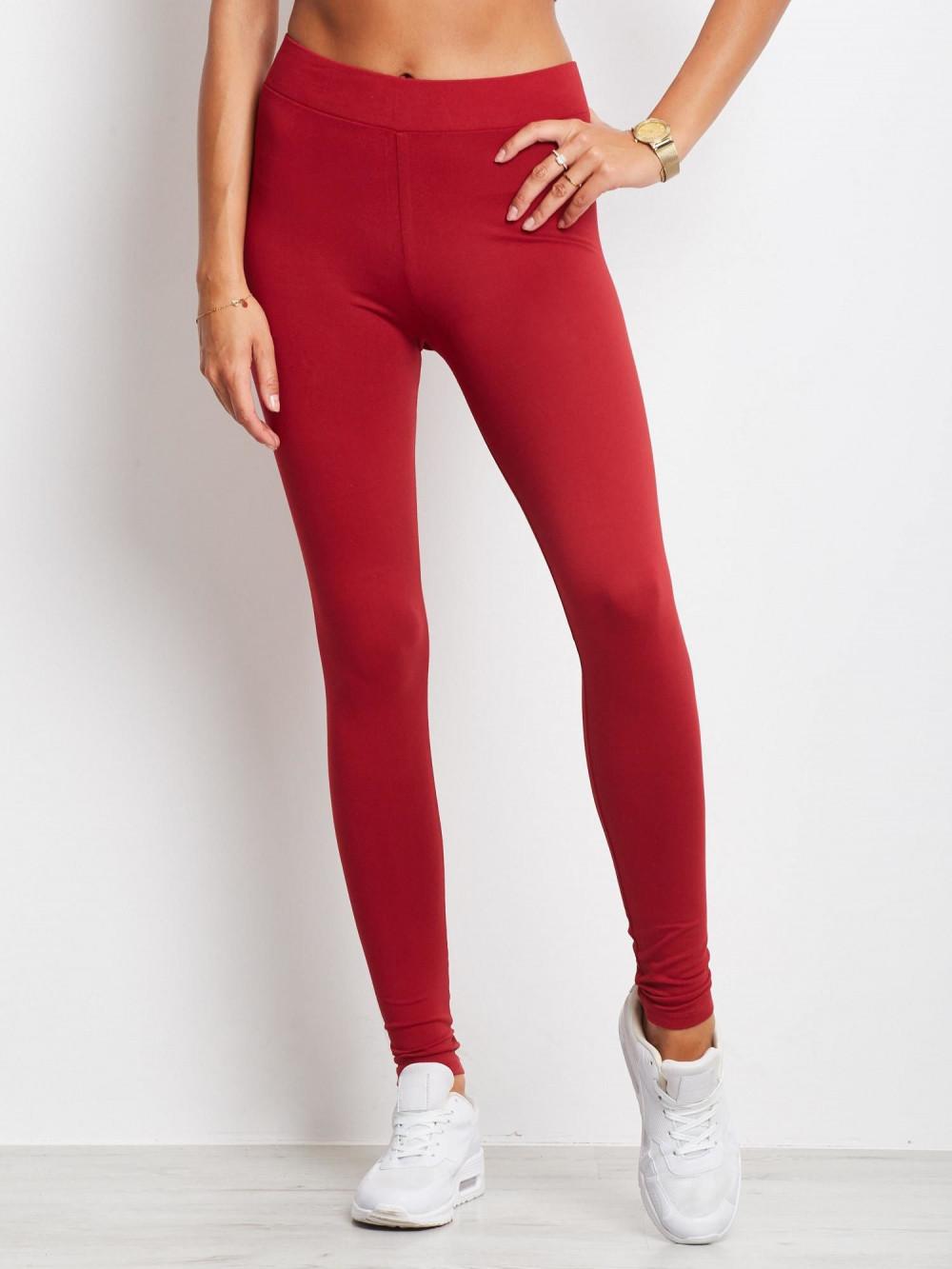 Czerwone legginsy fitness Prime 2