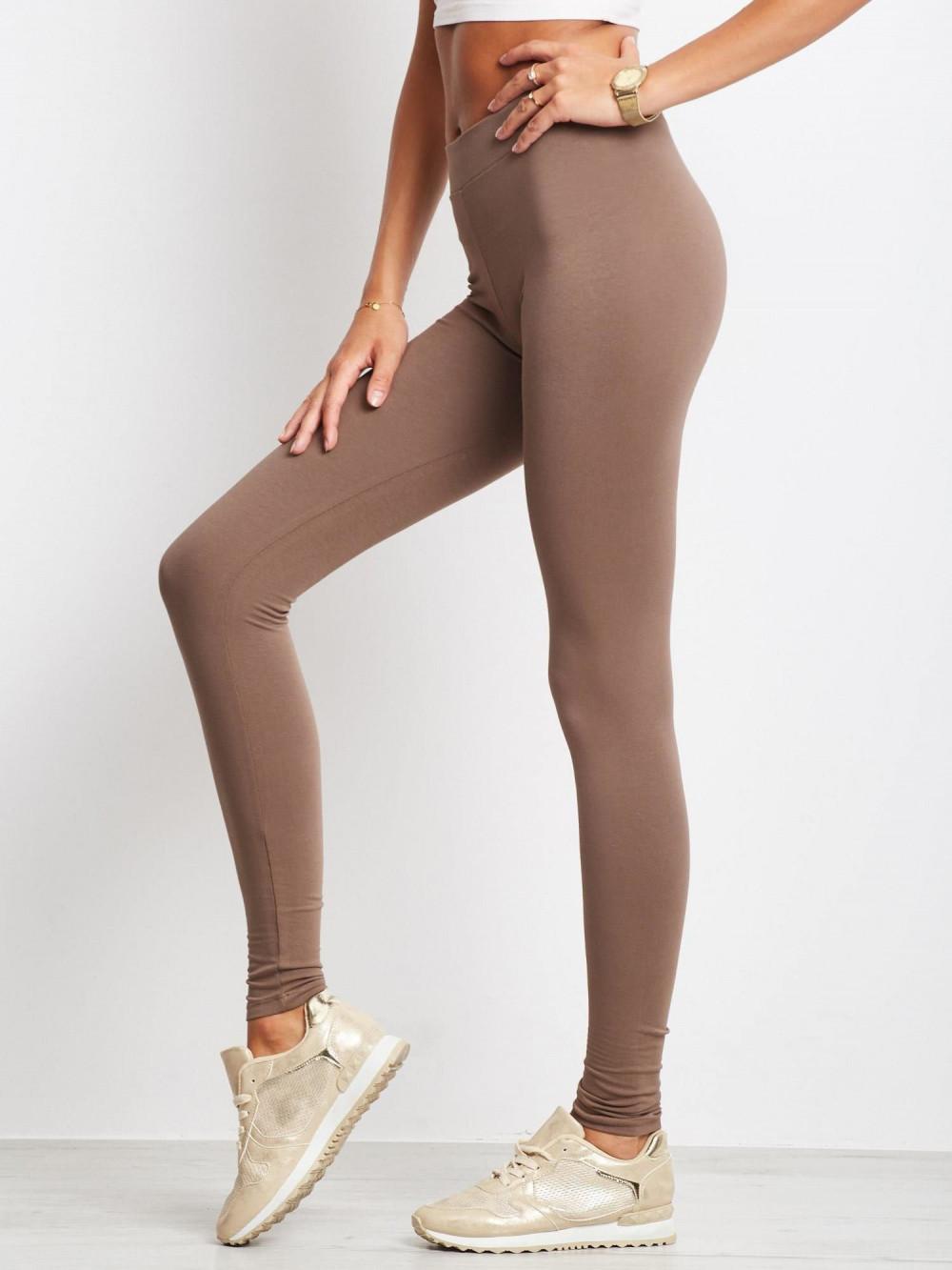 Kawowe legginsy fitness Prime 3