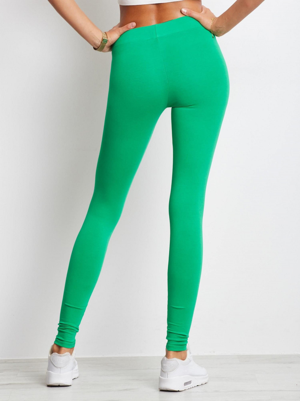 Zielone legginsy fitness Prime 4