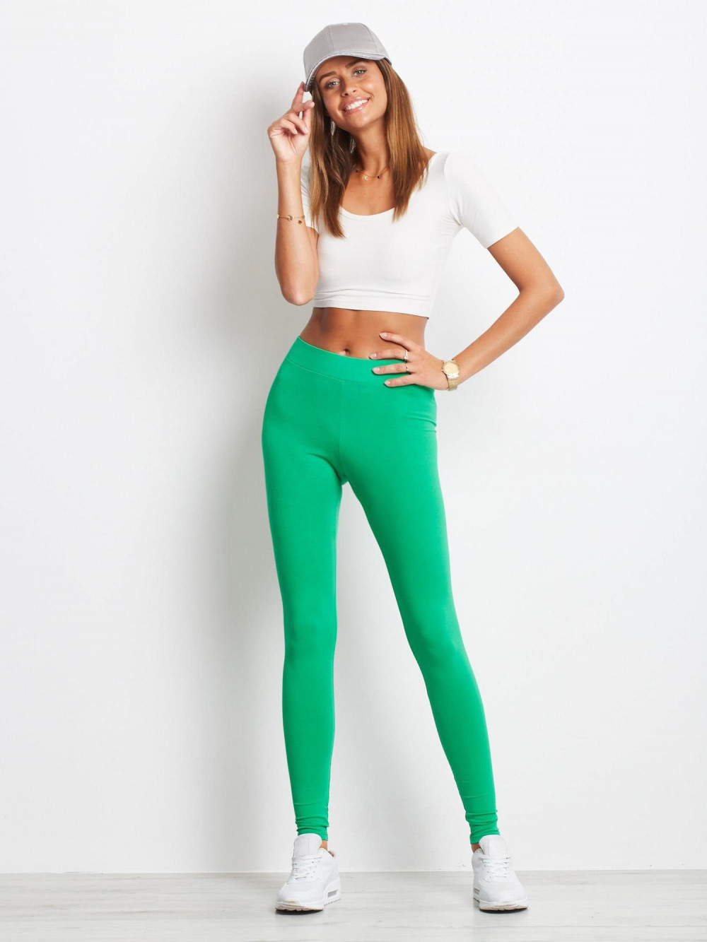 Zielone legginsy fitness Prime 1