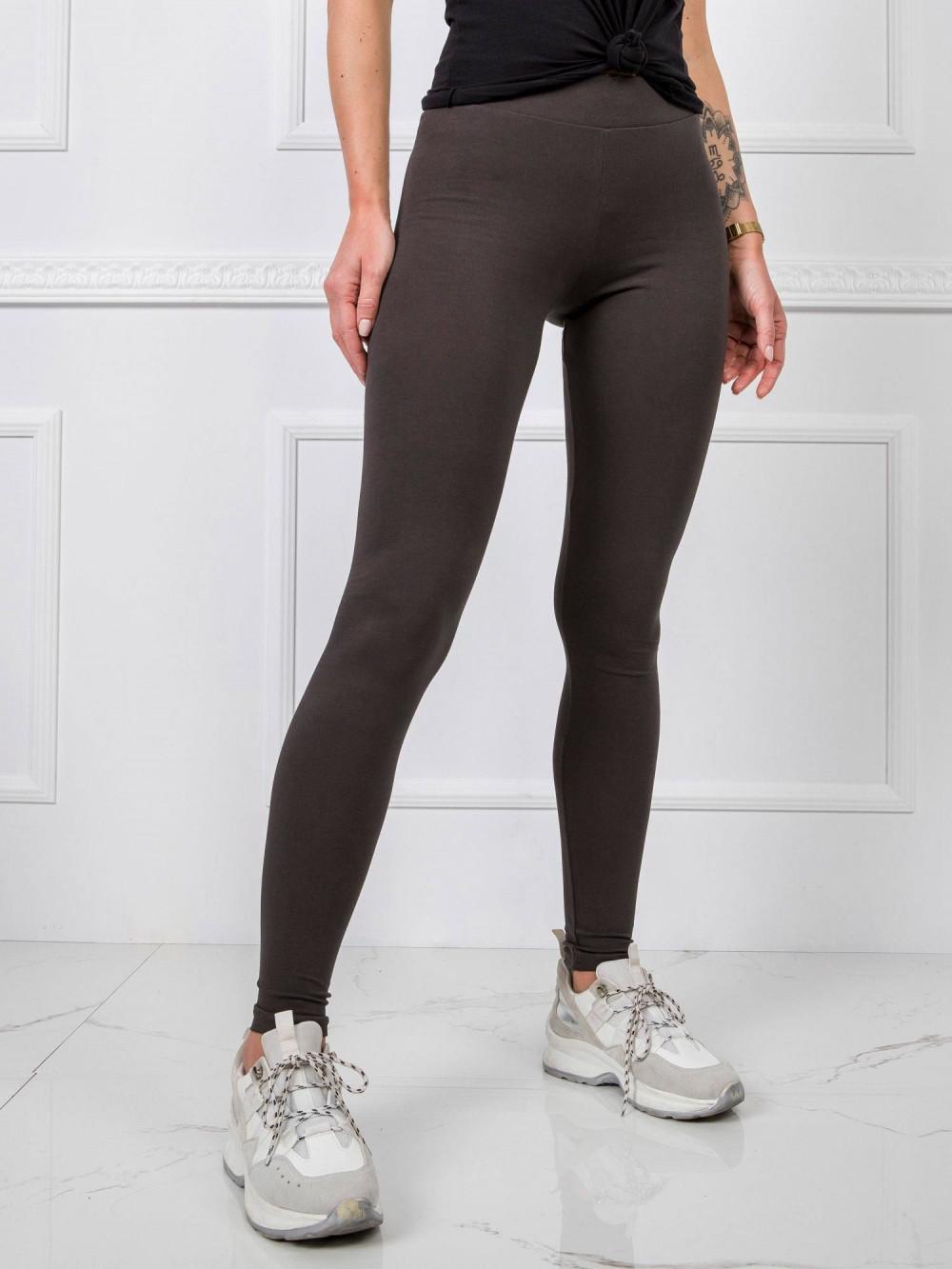 Khaki legginsy fitness Prime 2