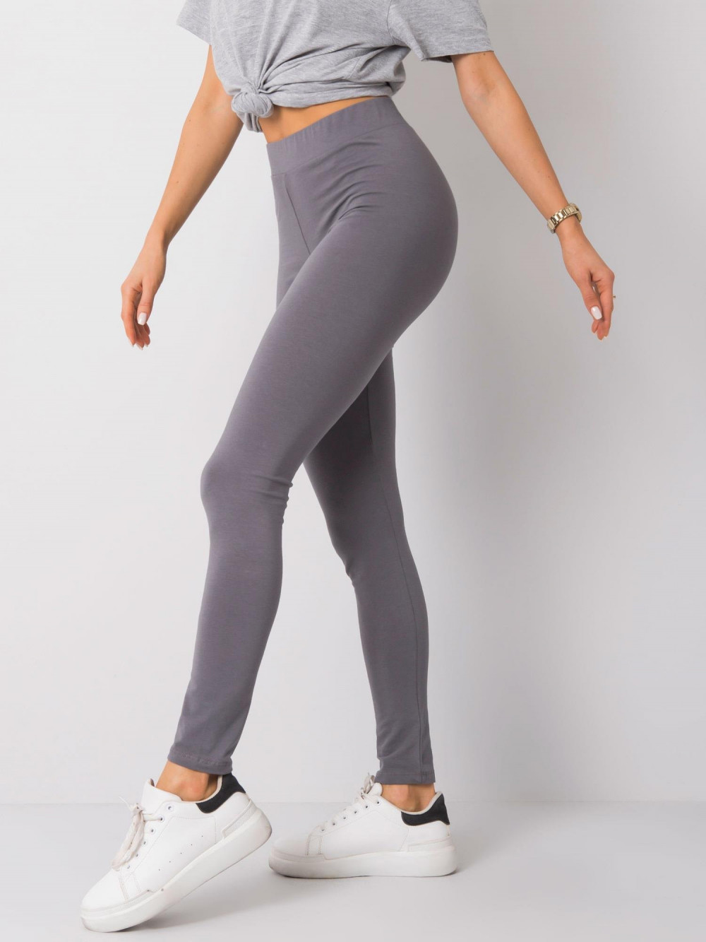 Jasnoszare legginsy fitness Prime 3