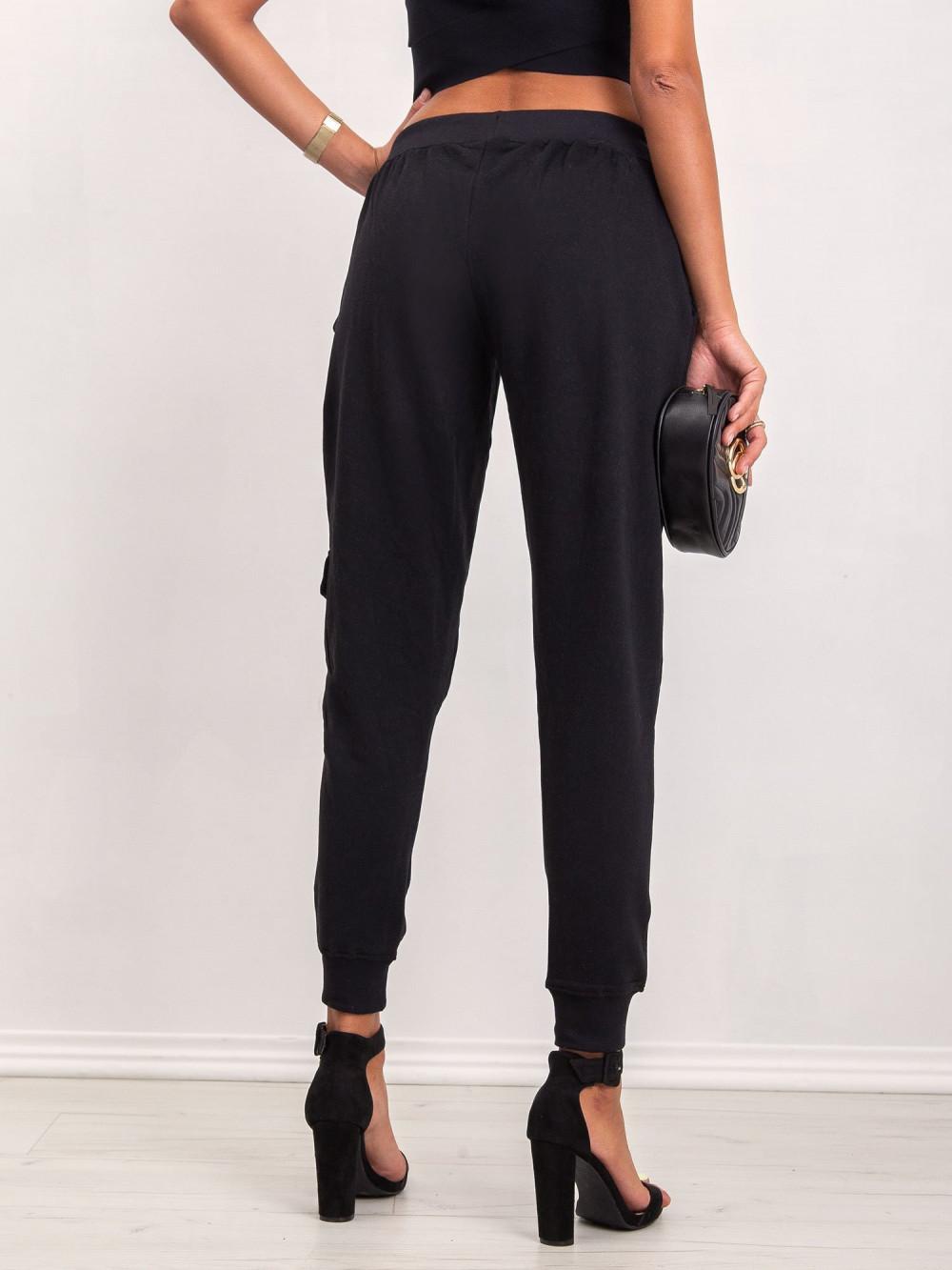 Czarne dresowe spodnie military Gerber 5