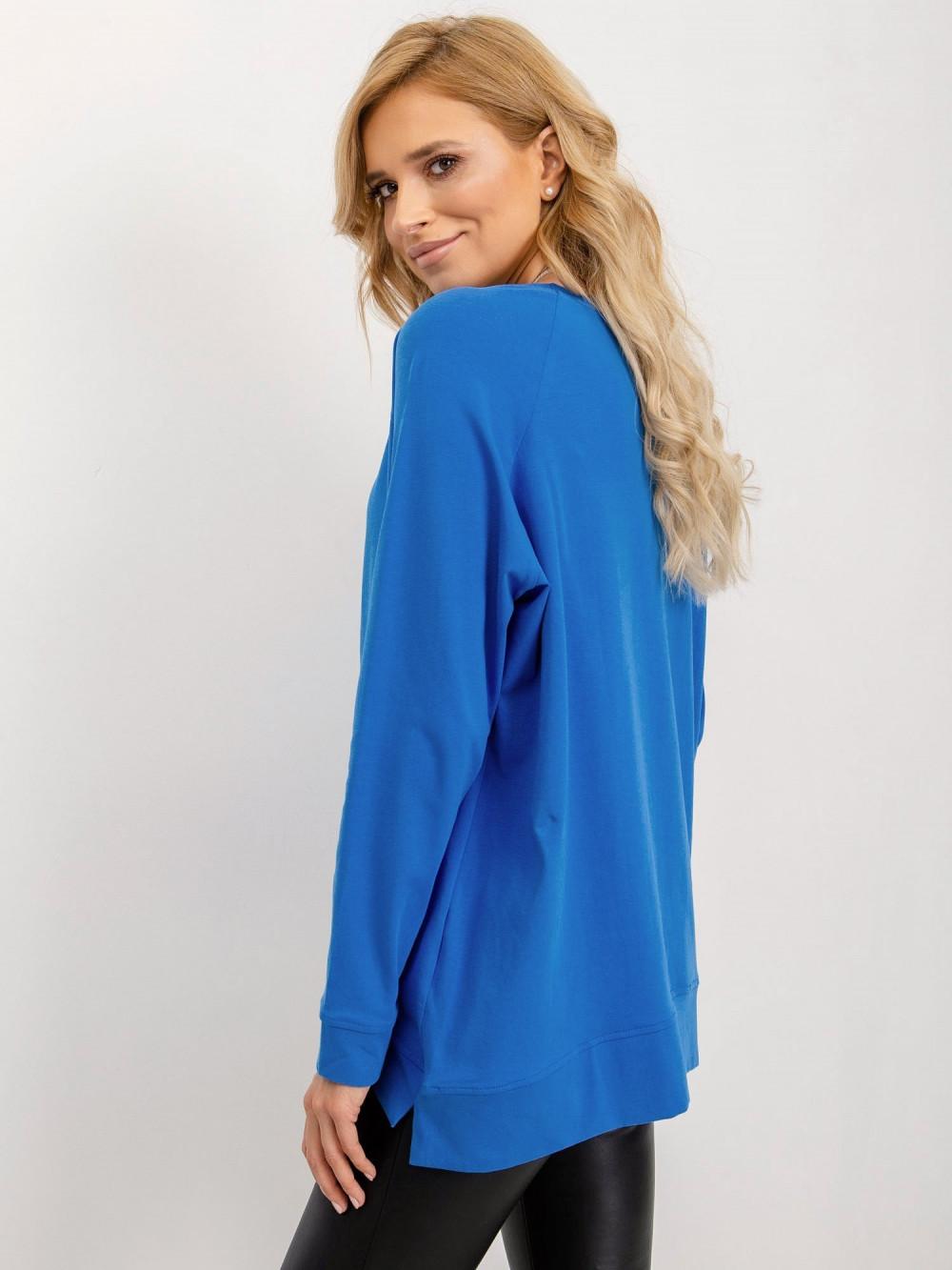 Niebieska klasyczna bluza Denma 2
