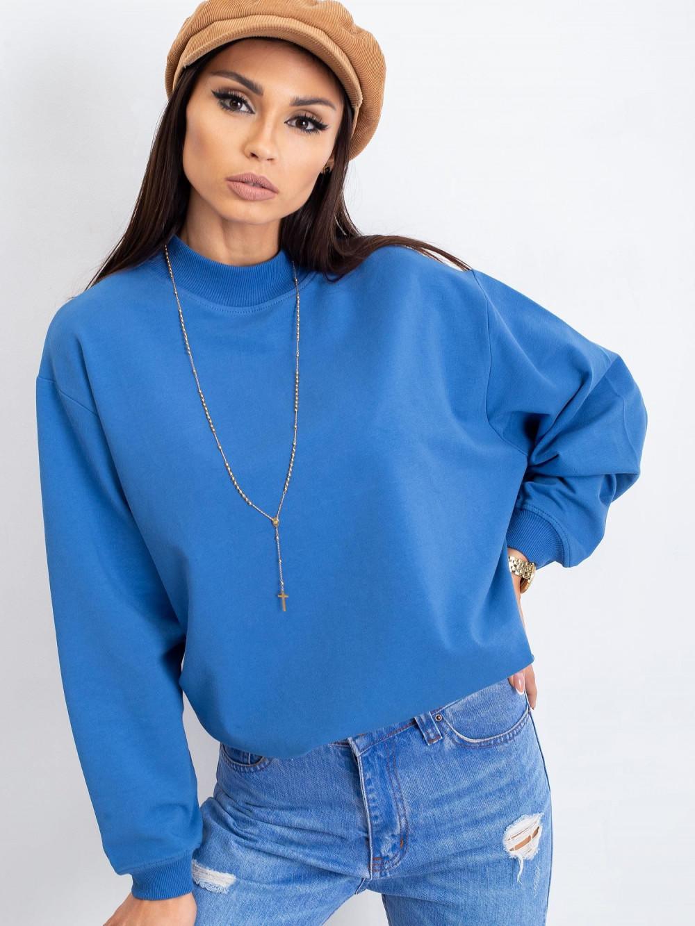 Niebieska bluza z ściągaczami Vicenza 3