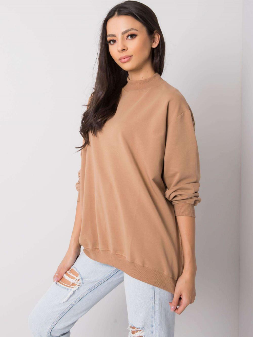 Karmelowa bluza z ściągaczami Vicenza 3