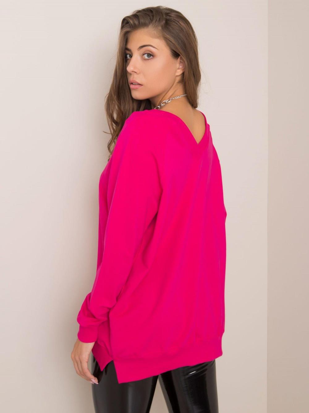 Fuksjowa bluza z wycięciem V na plecach Serafia 2