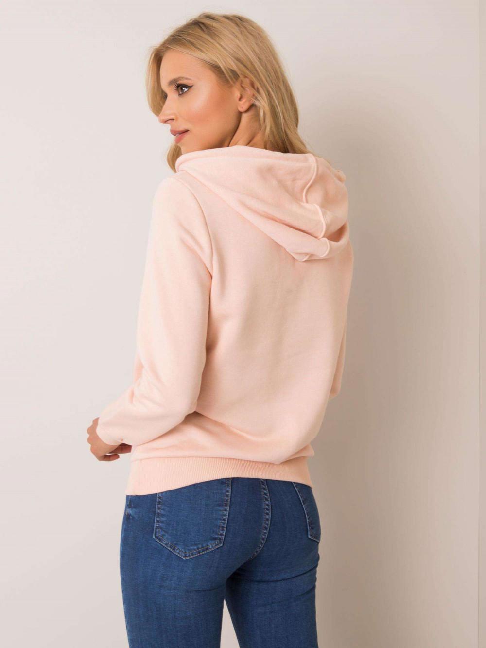 Różowa bluza kangur z kieszenią Lavo 3