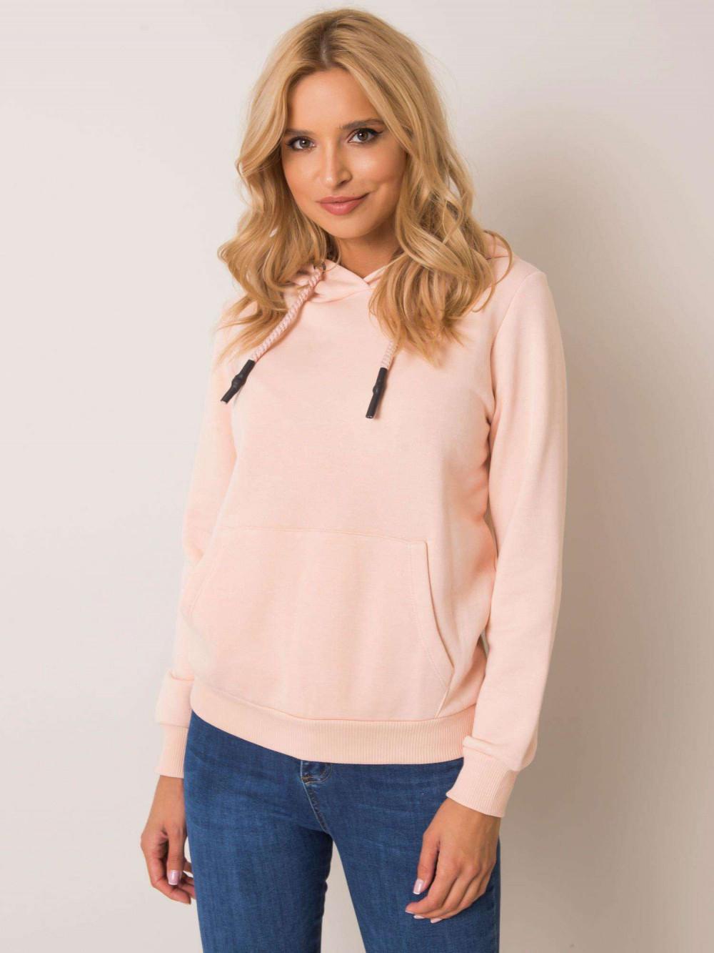 Różowa bluza kangur z kieszenią Lavo 2