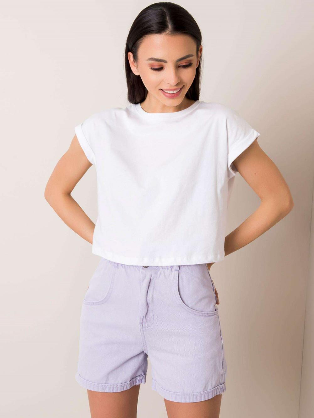 Biały t-shirt crop top Spone 1