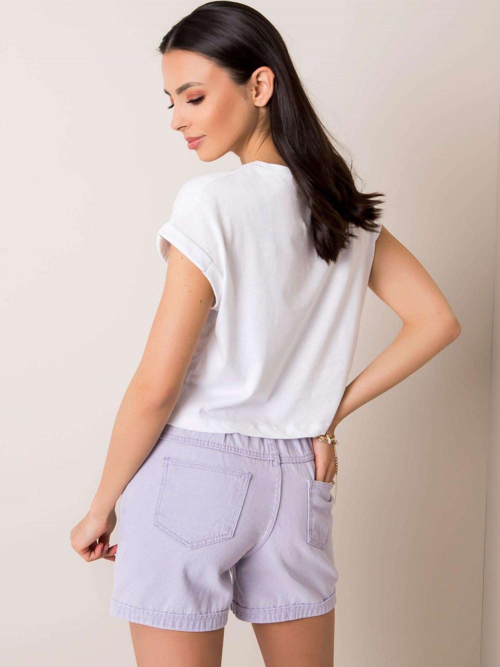 Biały t-shirt crop top Spone 2