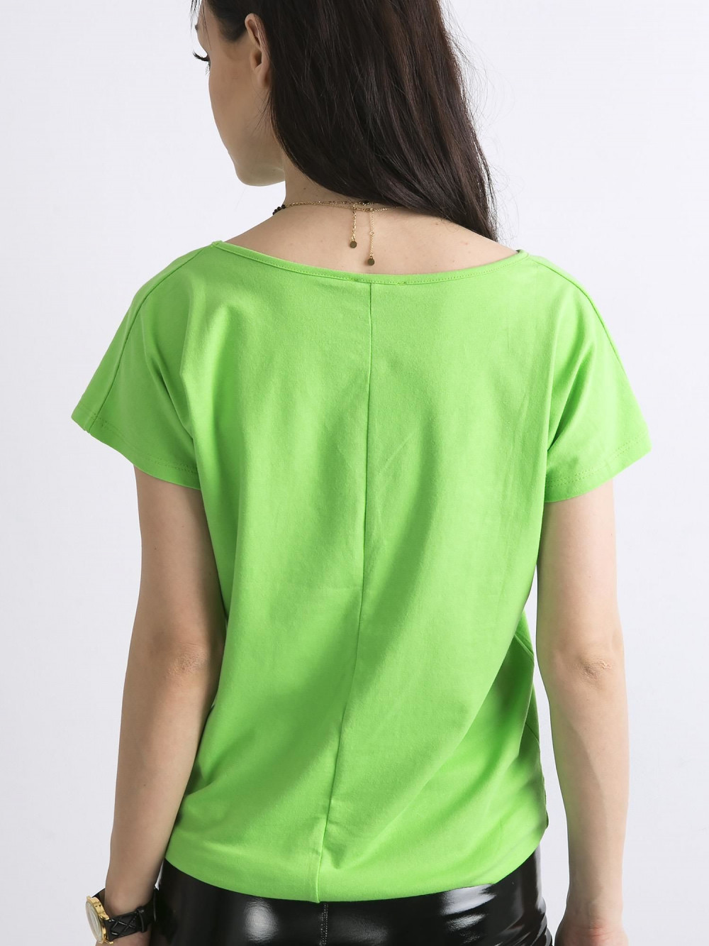 Zielony t-shirt basic Rough 5