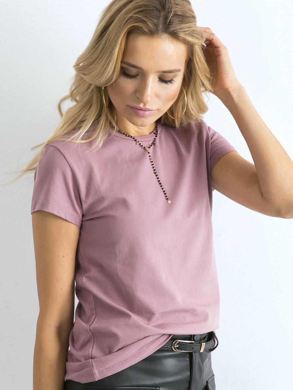 Wrzosowy t-shirt O-Neck Esma 2