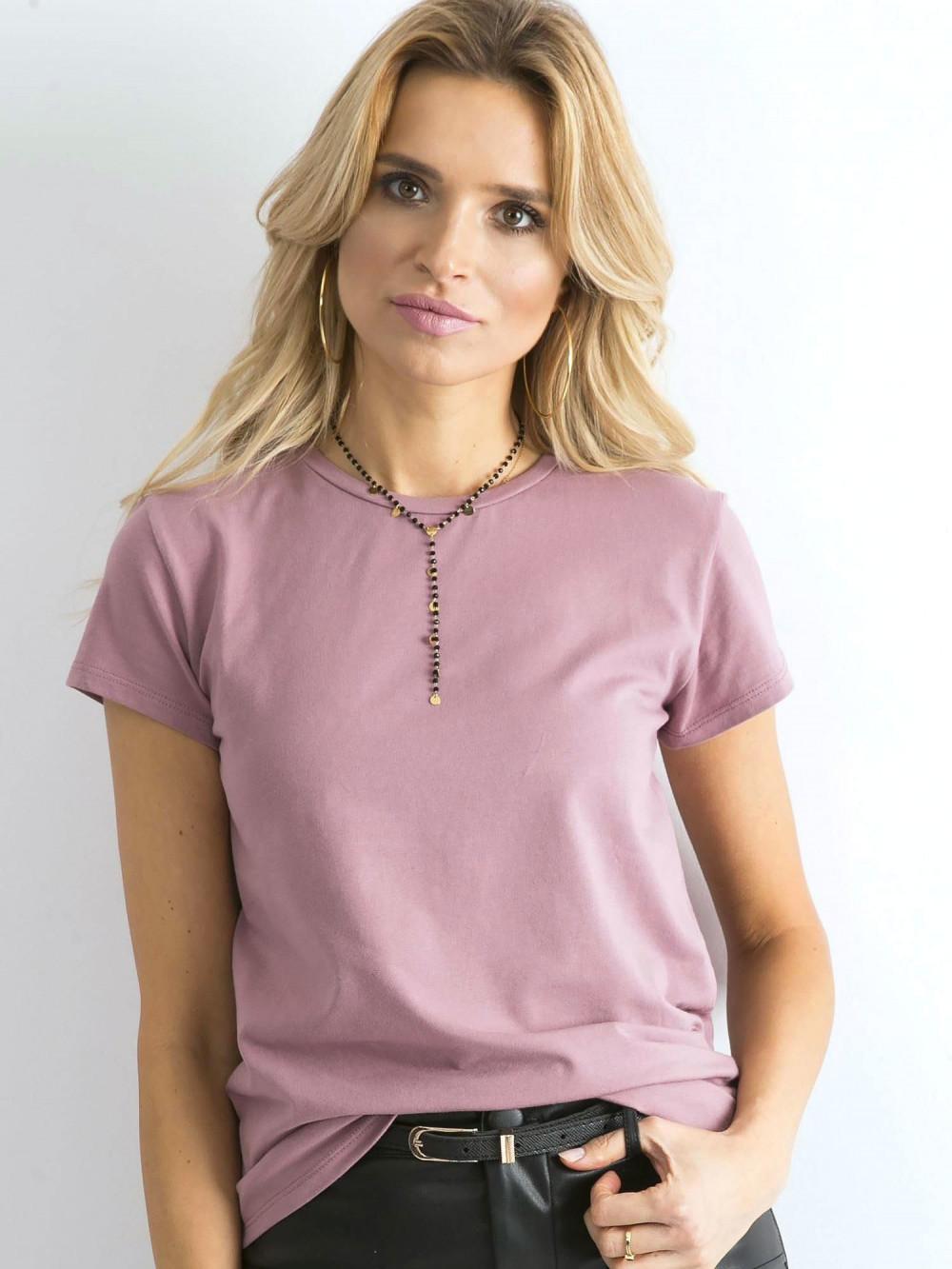 Wrzosowy t-shirt O-Neck Esma 1