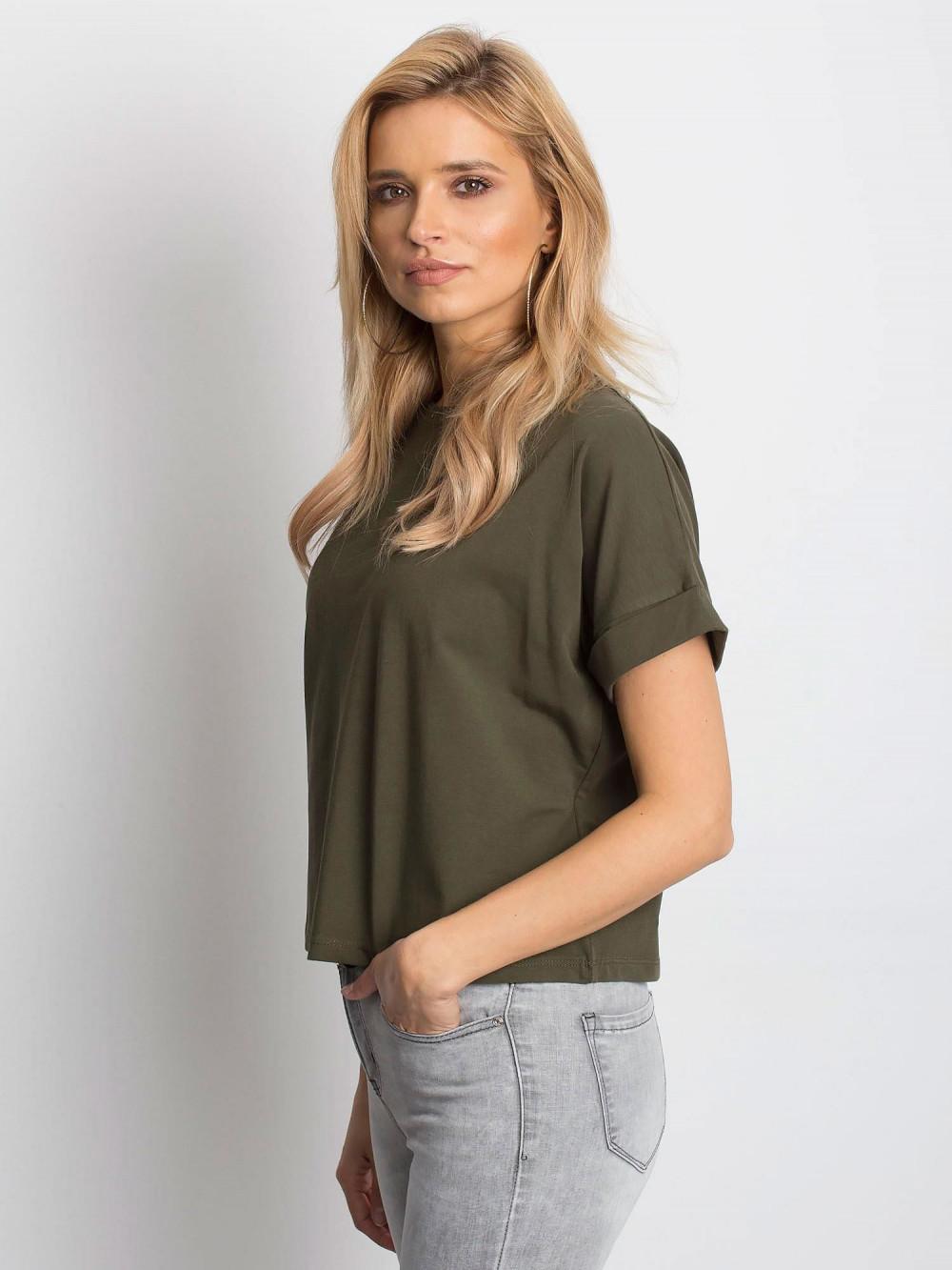 Khaki luźny t-shirt Blink 2