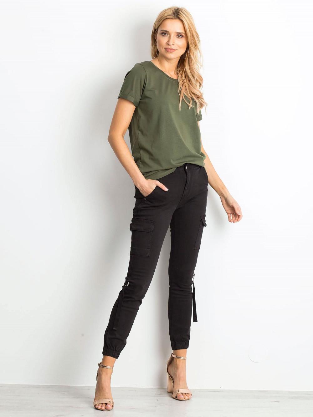 Khaki t-shirt O-Neck Kasom 3