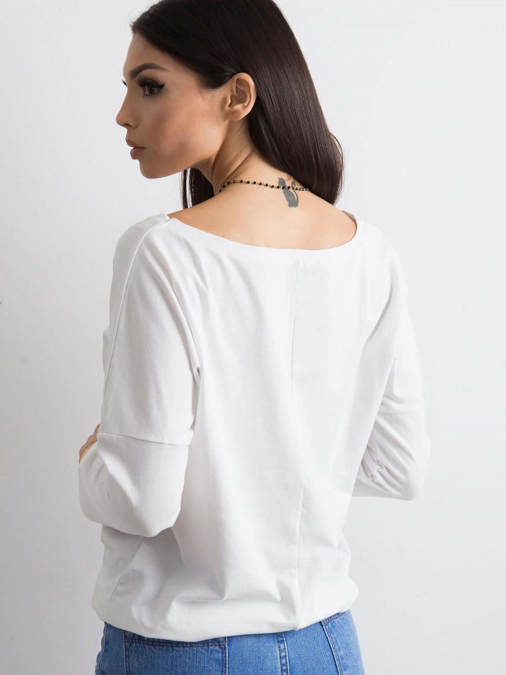 Biała bluzka ze ściągaczem Taurus 4