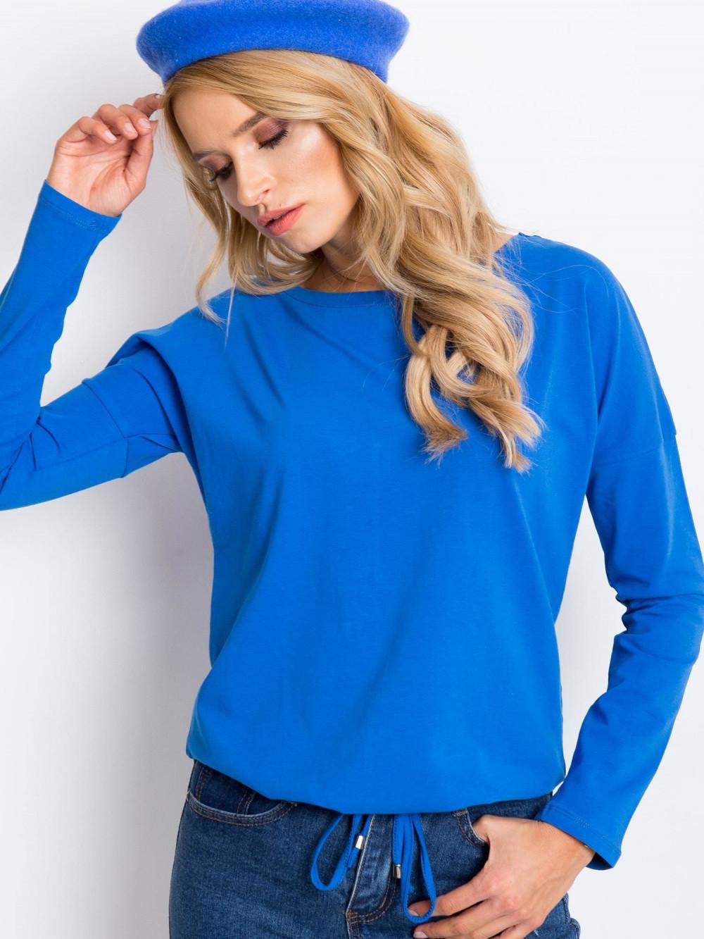 Niebieska bluzka ze ściągaczem Nadir 5