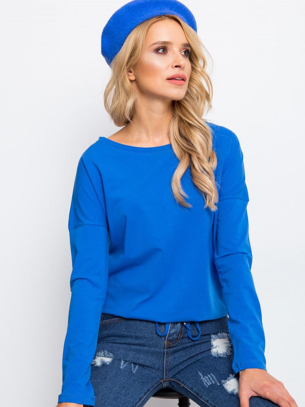 Niebieska bluzka ze ściągaczem Nadir 3