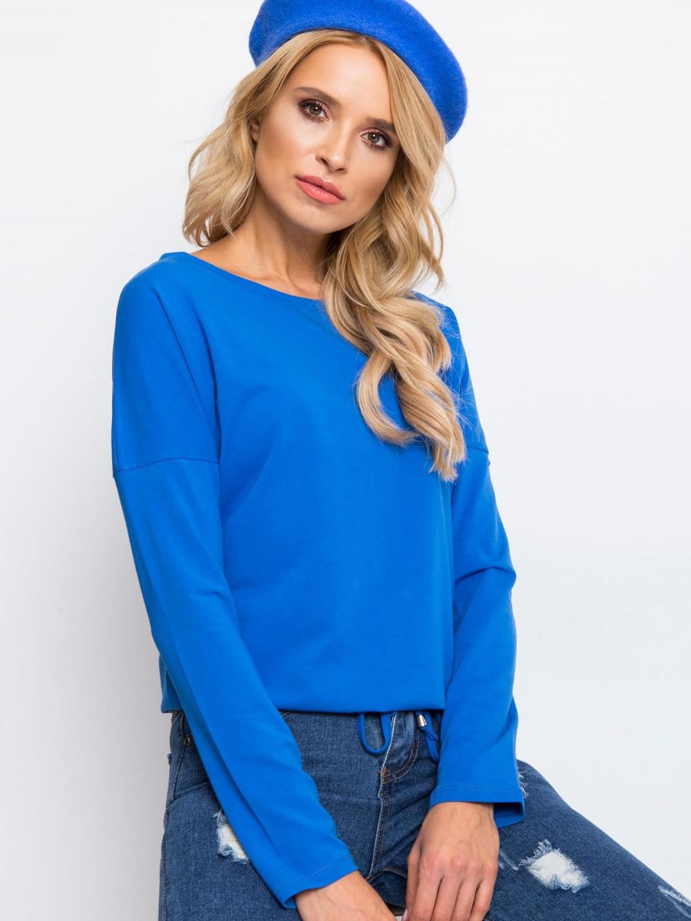 Niebieska bluzka ze ściągaczem Nadir 1