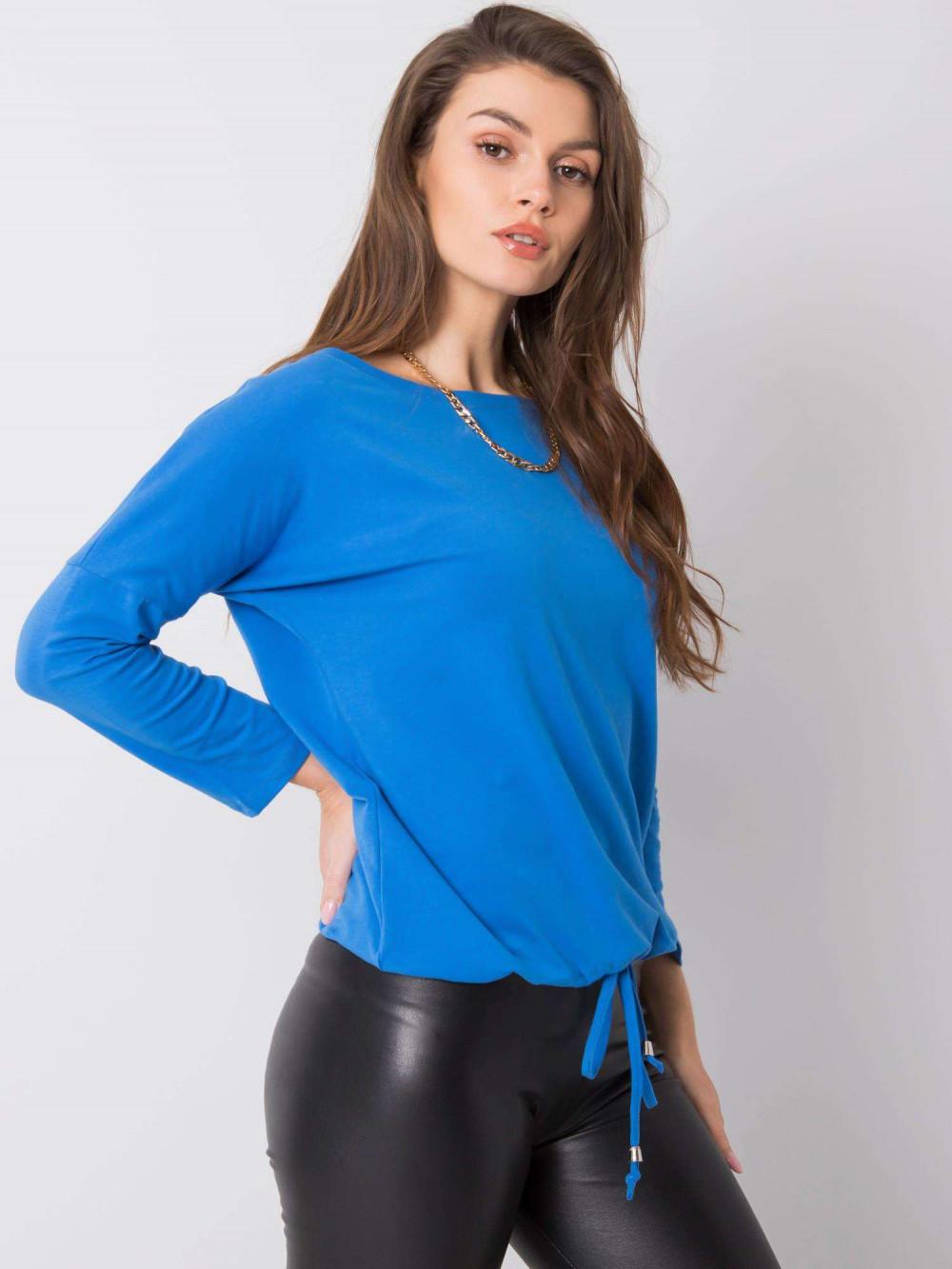 Ciemnoniebieska bluzka ze ściągaczem Taurus 4