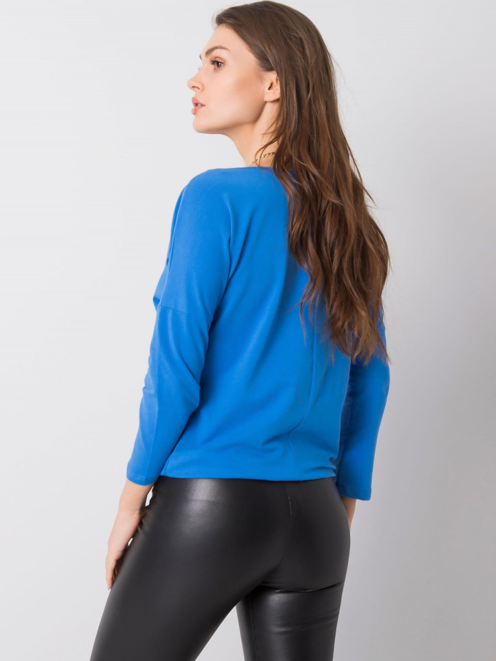 Ciemnoniebieska bluzka ze ściągaczem Taurus 5