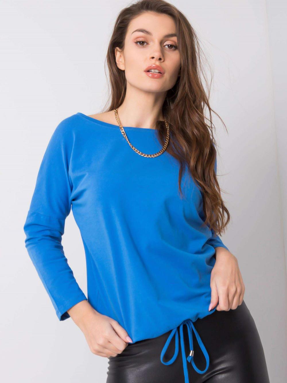 Ciemnoniebieska bluzka ze ściągaczem Taurus 3