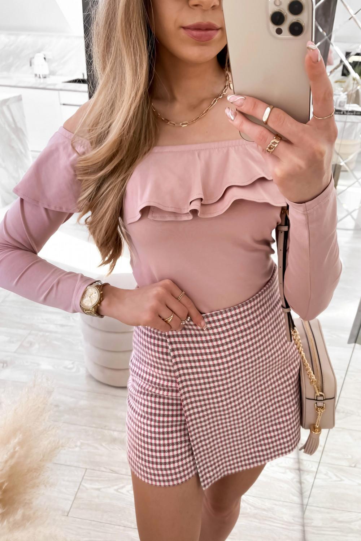 Różowa bluzka hiszpanka Massimo 3