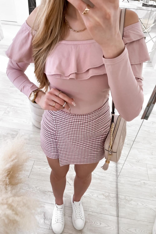 Różowa bluzka hiszpanka Massimo 4