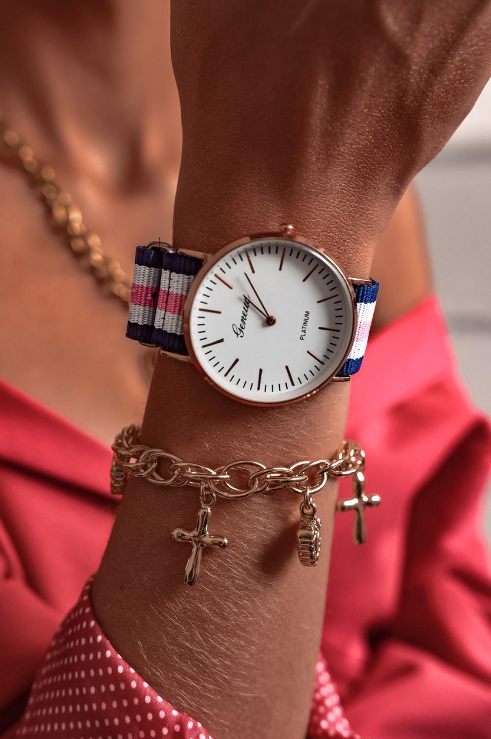 Zegarek damski klasyczny Stripes 2