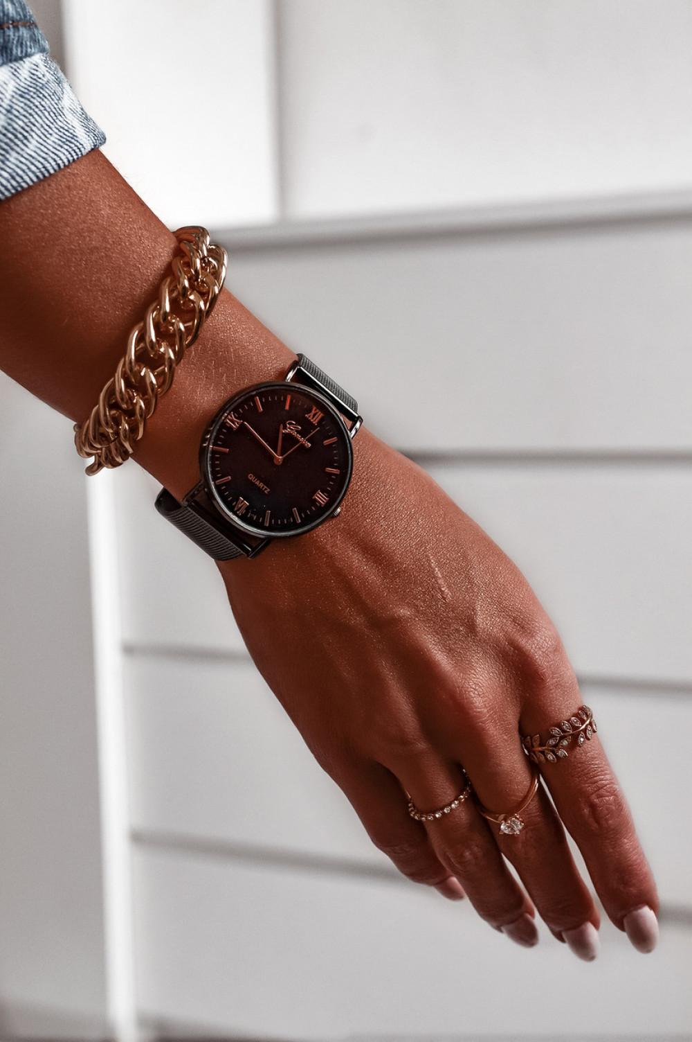 Zegarek damski klasyczny Marsala 2