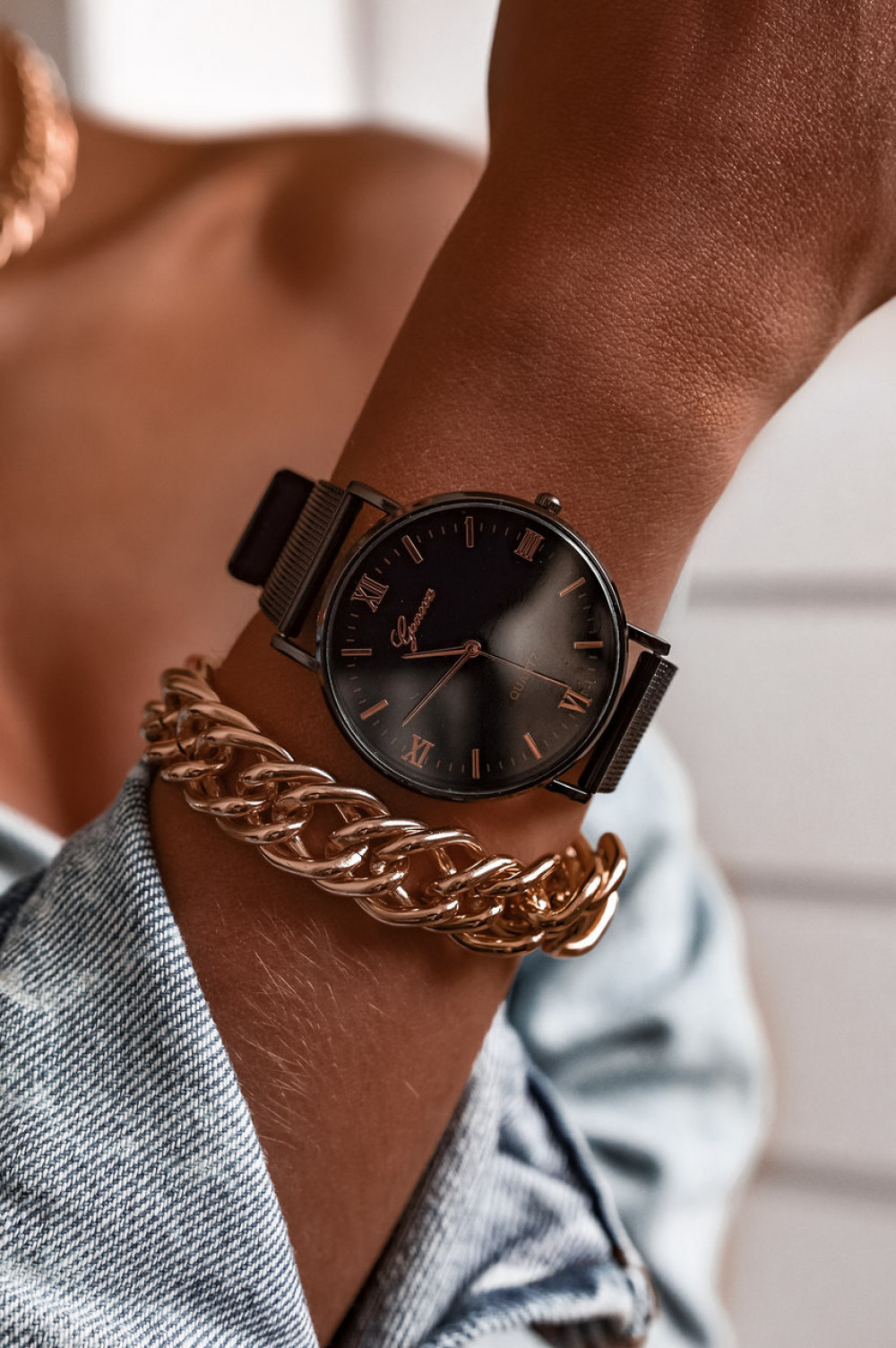 Zegarek damski klasyczny Marsala 3
