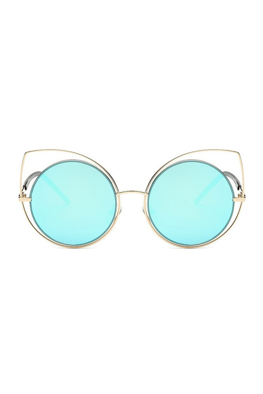 Błętkine lustrzane okulary kocie oko Evie 1
